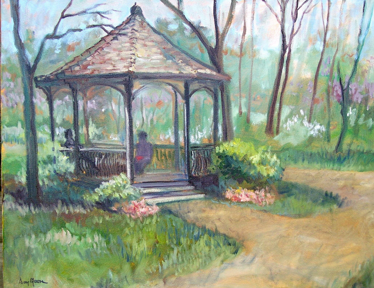 Gazebo - 16 x 20 by Don Moore