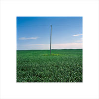 "Archival pigment print  18X18"" 2004   Pole 04.Set 1 by Danny Singer"