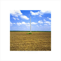 "Archival pigment print  18X18"" 2004   Pole 07 Set 1  by Danny Singer"