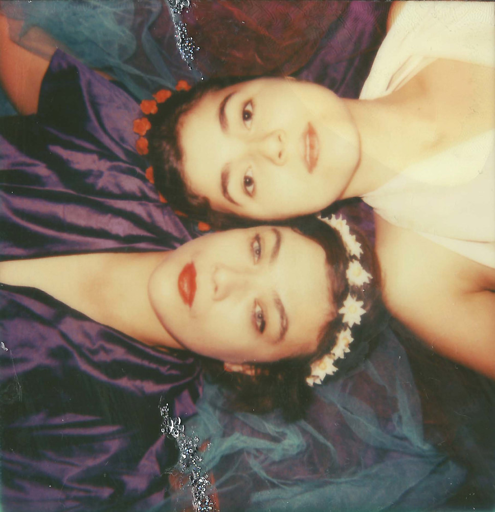 Rosemary Standley & Dom La Nena (Birds on a wire) by Sarah Seené
