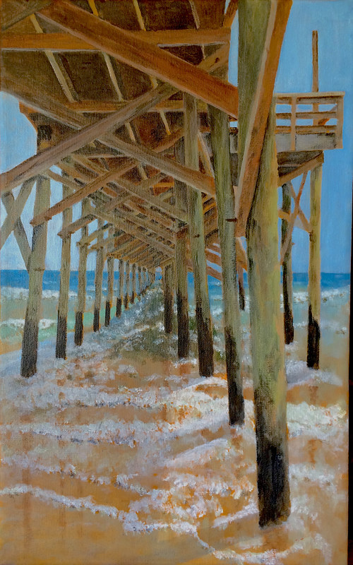 Pawlies Pier by Gary Ault