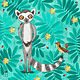 L is for Lemur and Lark by Valerie Lesiak