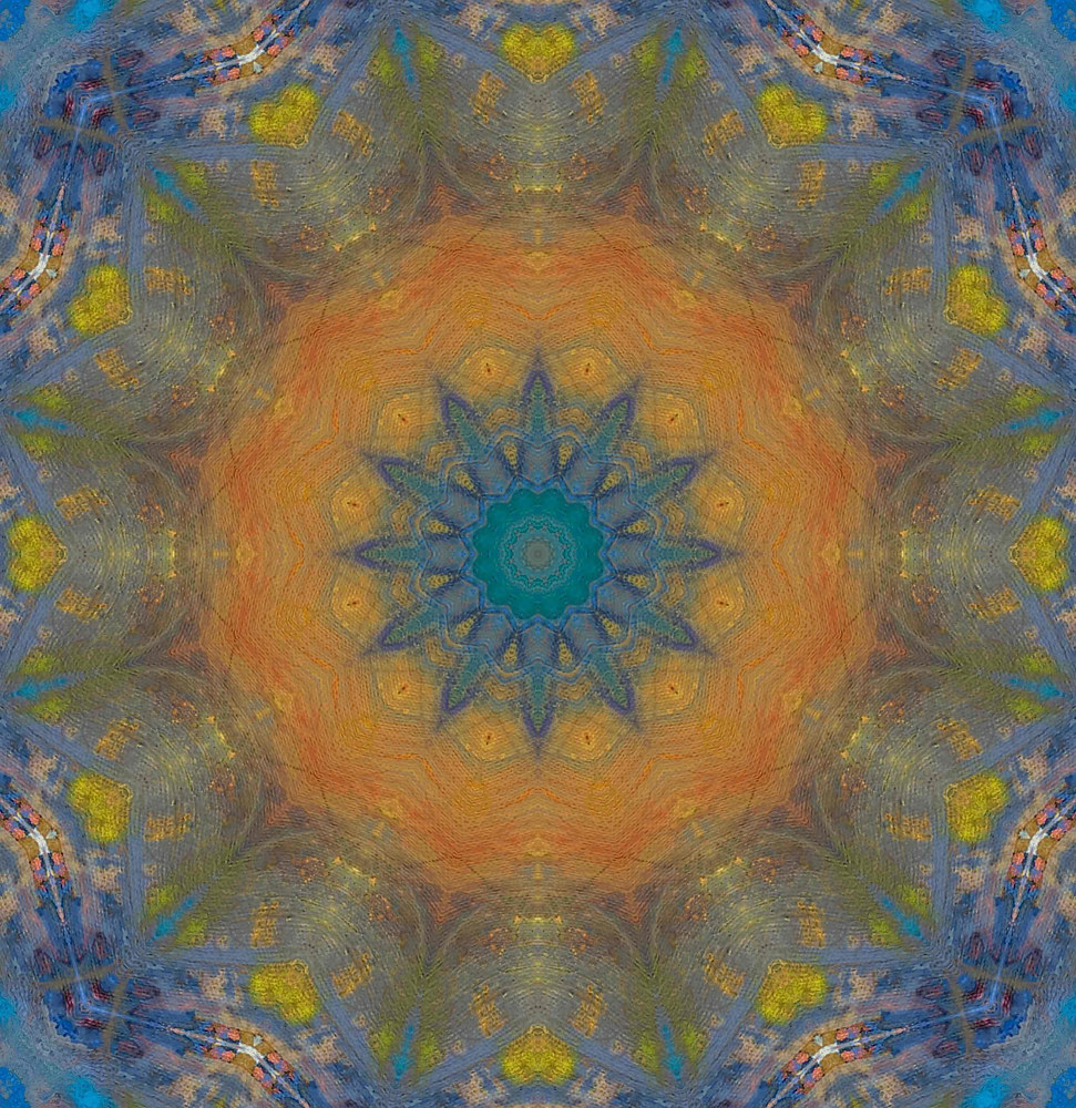 Mandala 1 by Elaine Lauzon