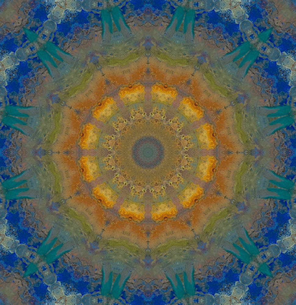 Mandala 2 by Elaine Lauzon