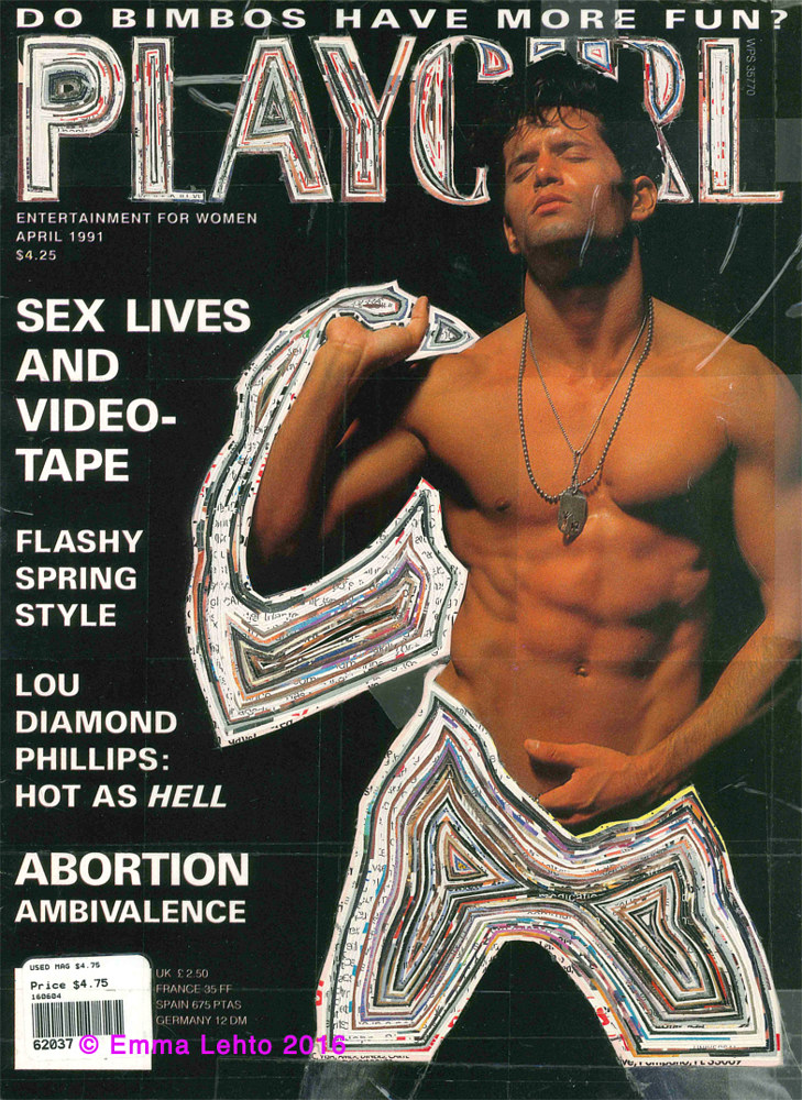 Sculpture Rejected: Playgirl Magazine  ( #1 ) by Emma Lehto