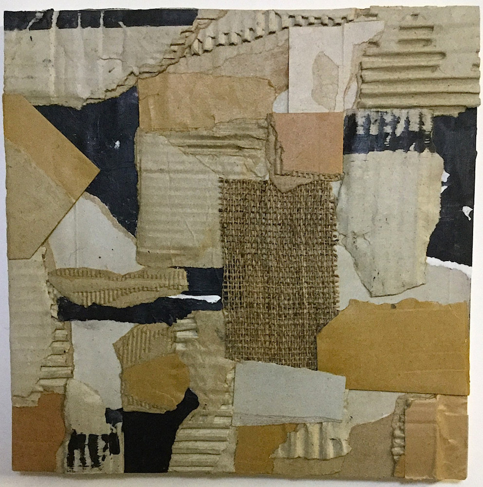 Acrylic painting Scrapworks #6 by Gary Jenkins