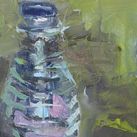 Oil painting Salt Shaker #2 by William Sharp