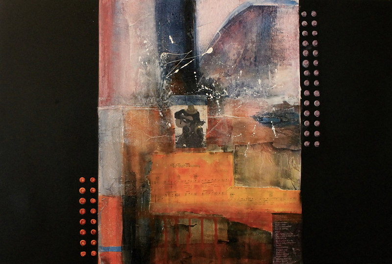 Mixed-media artwork To The Morning by Steve Latimer
