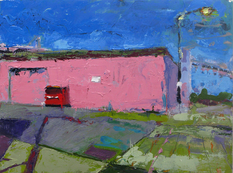 Oil painting Pink by William Sharp