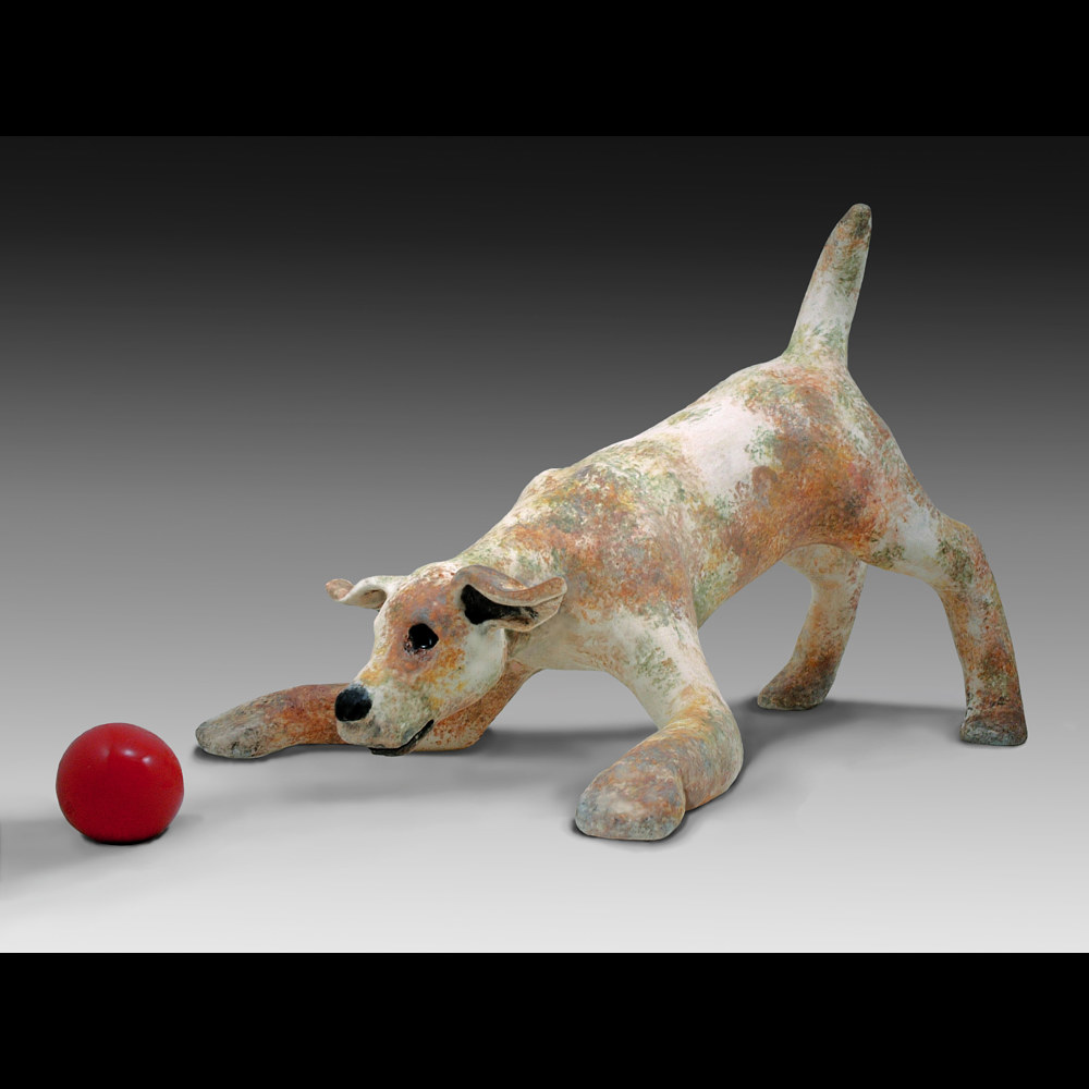 Red Ball  by Cathy Crain