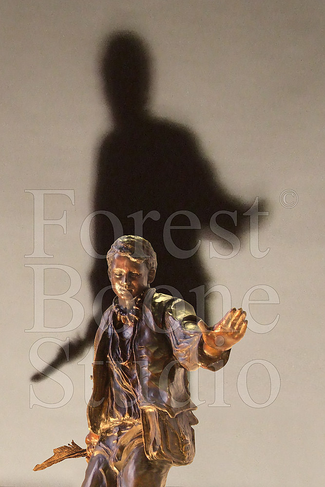 Forest Boone Bronze Statue by Forest Boone