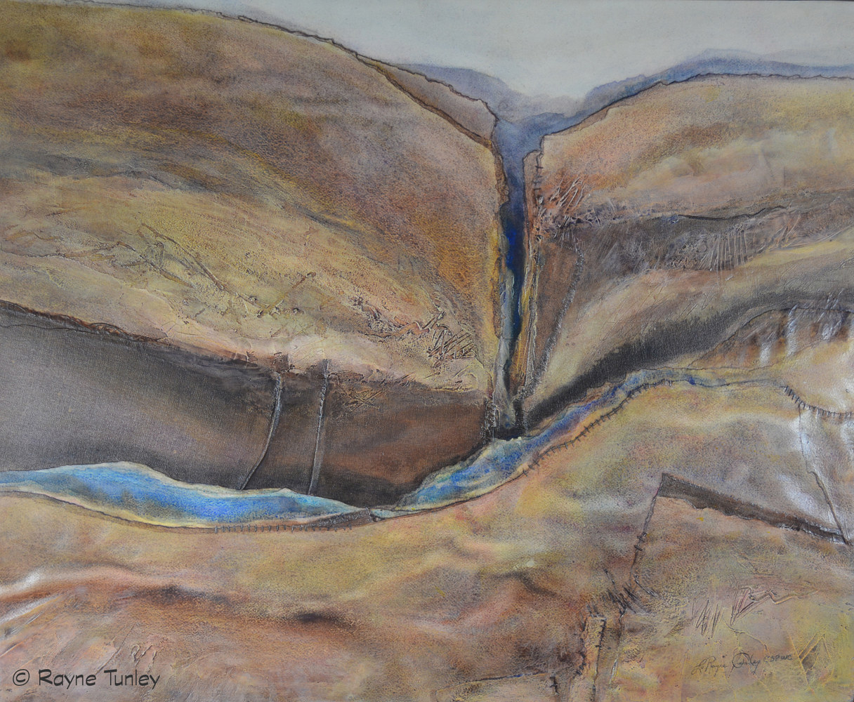 "Rayne Tunley, ""Forces and Changes"", 28in x 34in, watercolour  by Rayne Tunley"