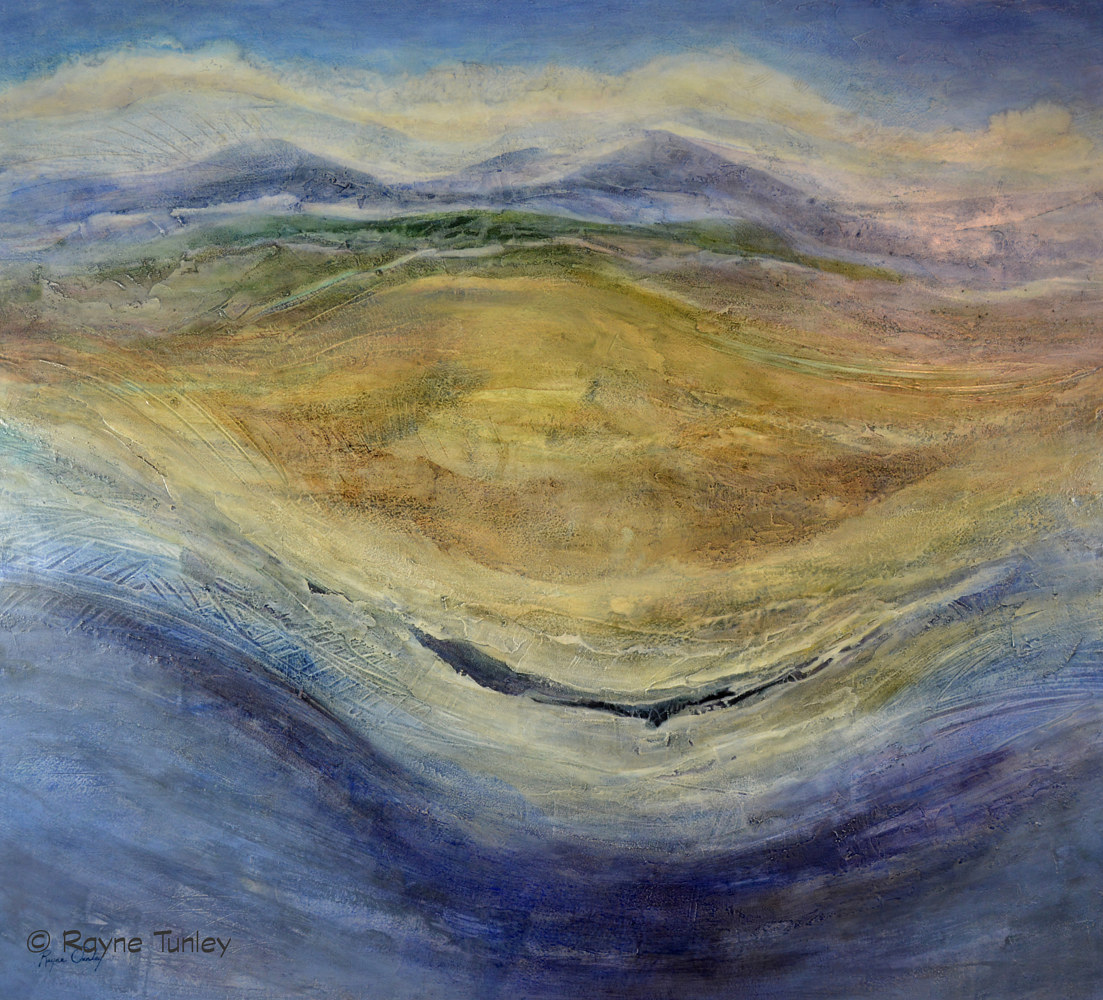 "Rayne Tunley, ""Cordillera"", 36in x 48in, Watercolour by Rayne Tunley"