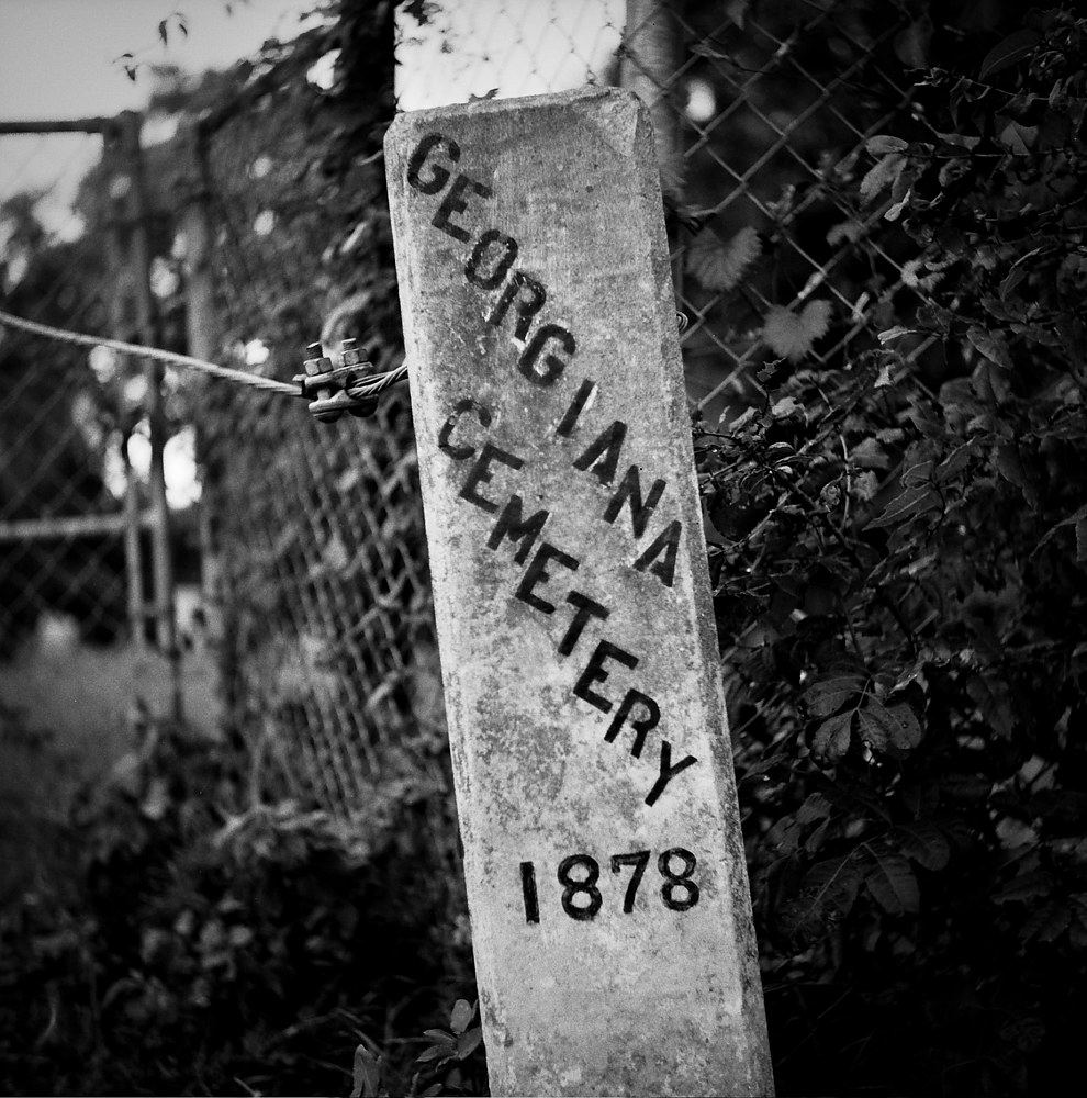 Georgiana Cemetery-1 (PL03_4100BW) by Gary Jones