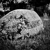 Georgiana Cemetery-5 (PL03_4104BW) by Gary Jones