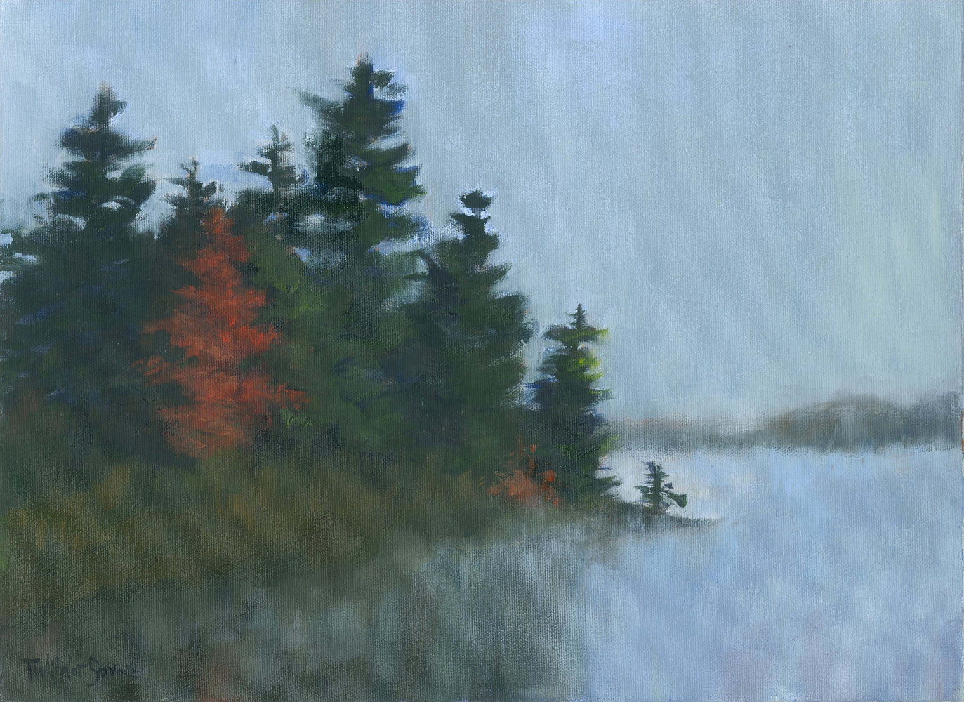 Morning Mist II by Patricia Savoie