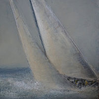 Oil painting The Reach by Nella Lush