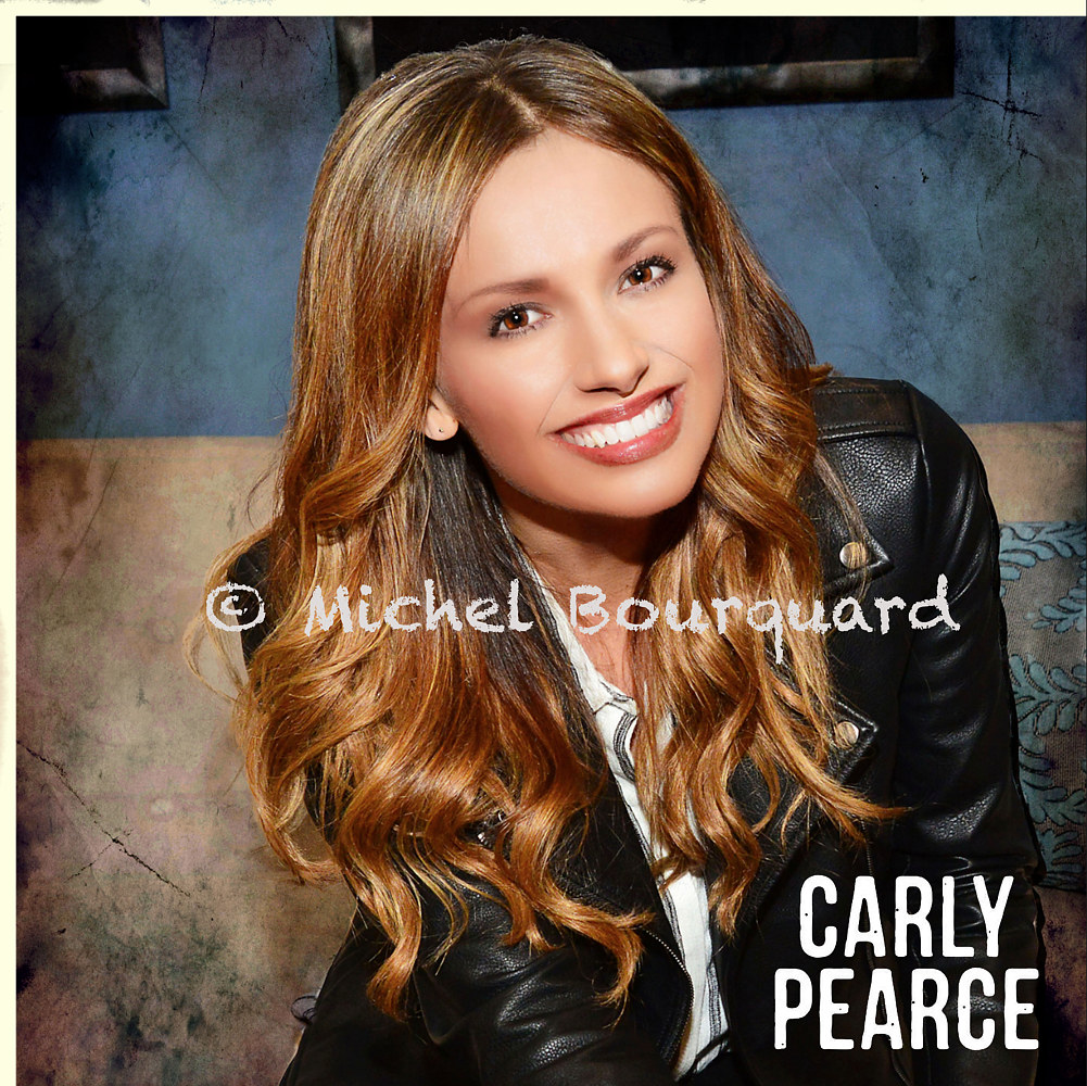 Carly Pearce - color cover  001 by Michel Bourquard