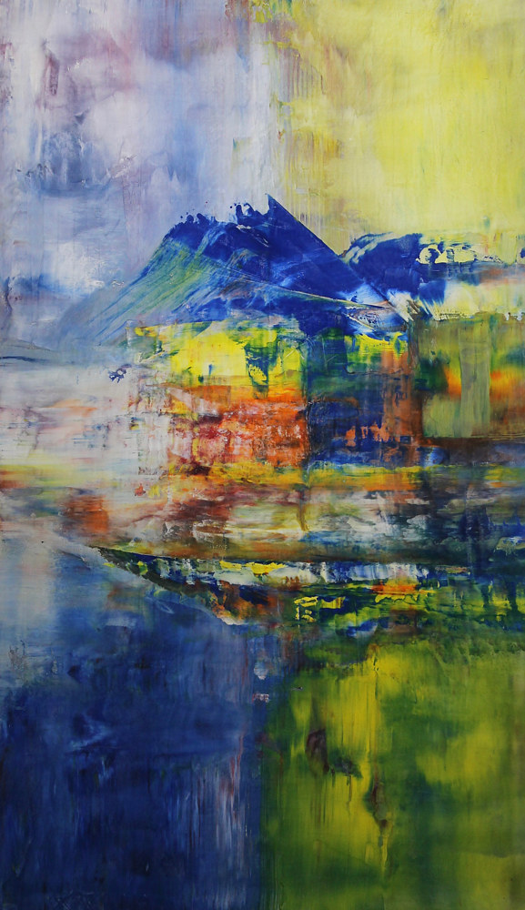 "On Edge ~ 48""x 27""~ $800 by Paul Catalanotto"