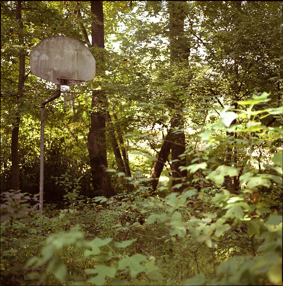 Abandoned Hoop by Stuart Diekmeyer