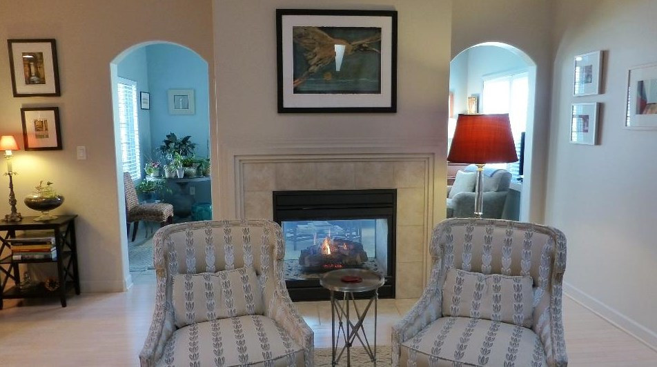Devine Custom Fireplace by Kathi Kermes - Dixon