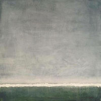 Acrylic painting Grey Sky/ Horizon by Sarah Trundle