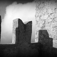 Erice lookout tower by Stuart Diekmeyer