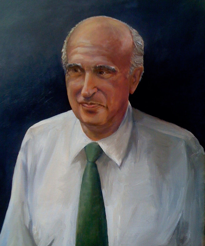 custom oil portrait by Betty Ann  Medeiros