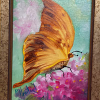 Golden Butterfly  by Barbara Haviland