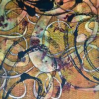 Print Motion Series, 2, Kantha by Jeanie Auseon