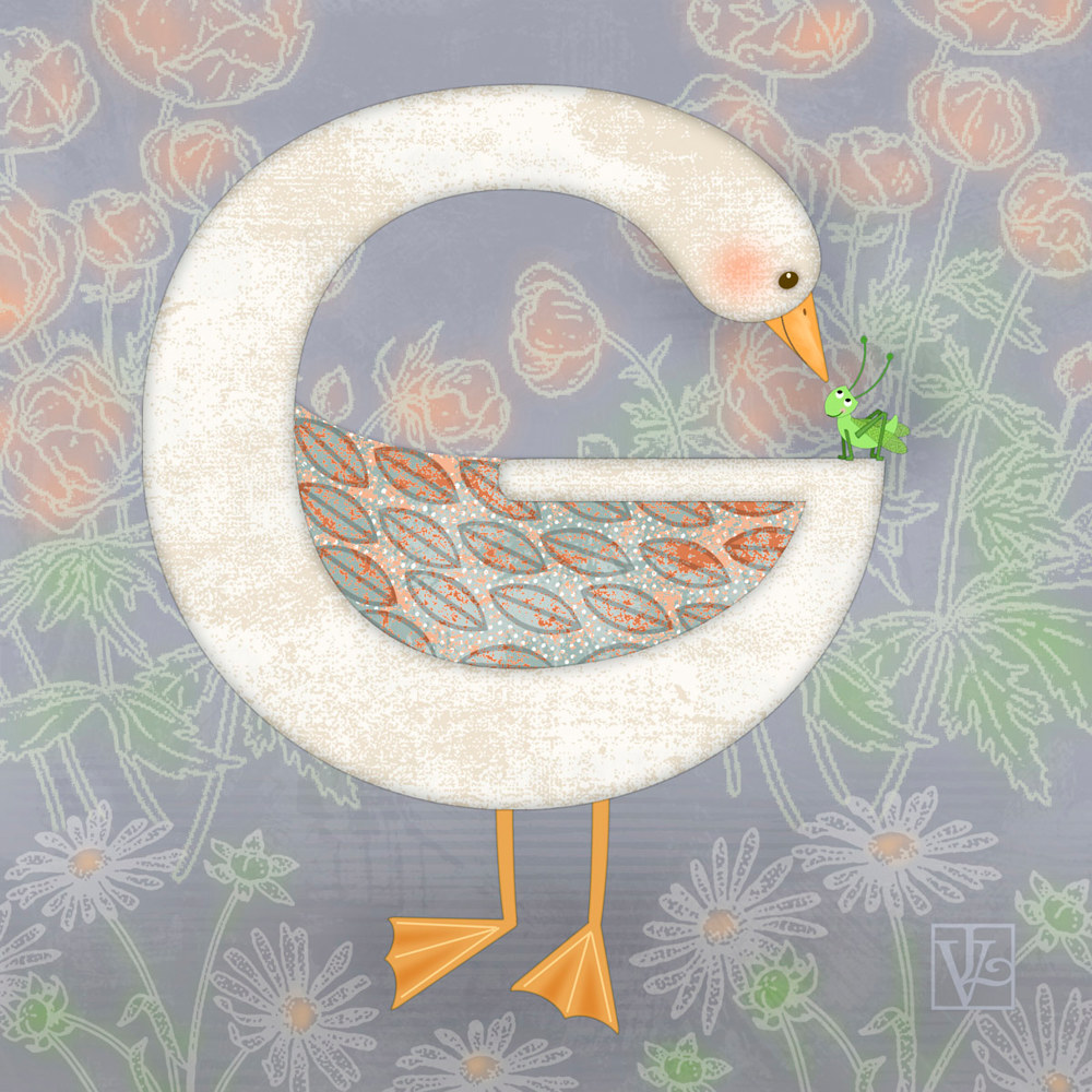 G is for Goose and Grasshopper  by Valerie Lesiak