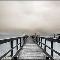 Davis Bay Pier 1 by Jim Friesen