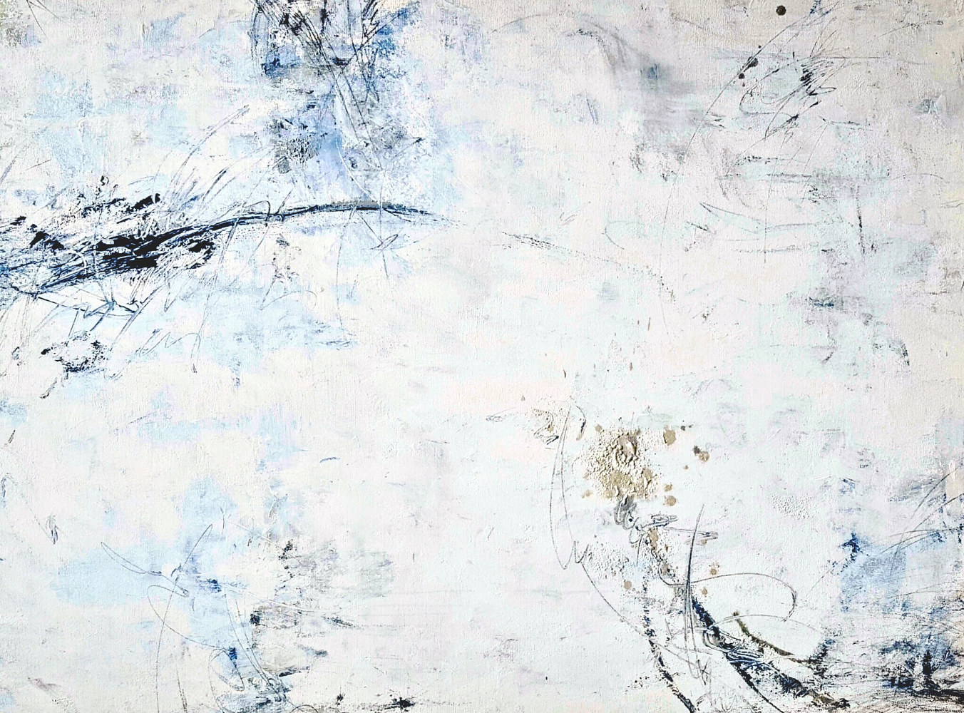 "Acrylic painting ""Salvation 2"" series.    30""40""x1.5"" by Laura Spring"