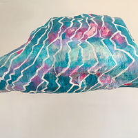 Acrylic painting Crystal Lightning Cloud by Julie Gladstone