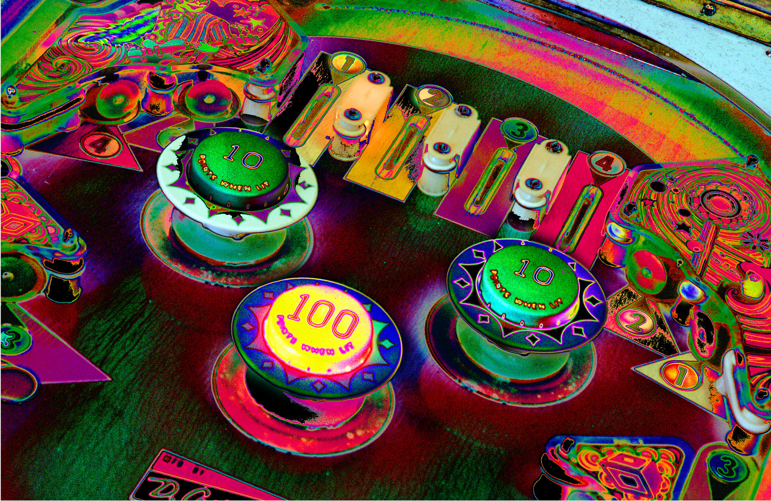 Pinball Series #8 by Kathleen Gross