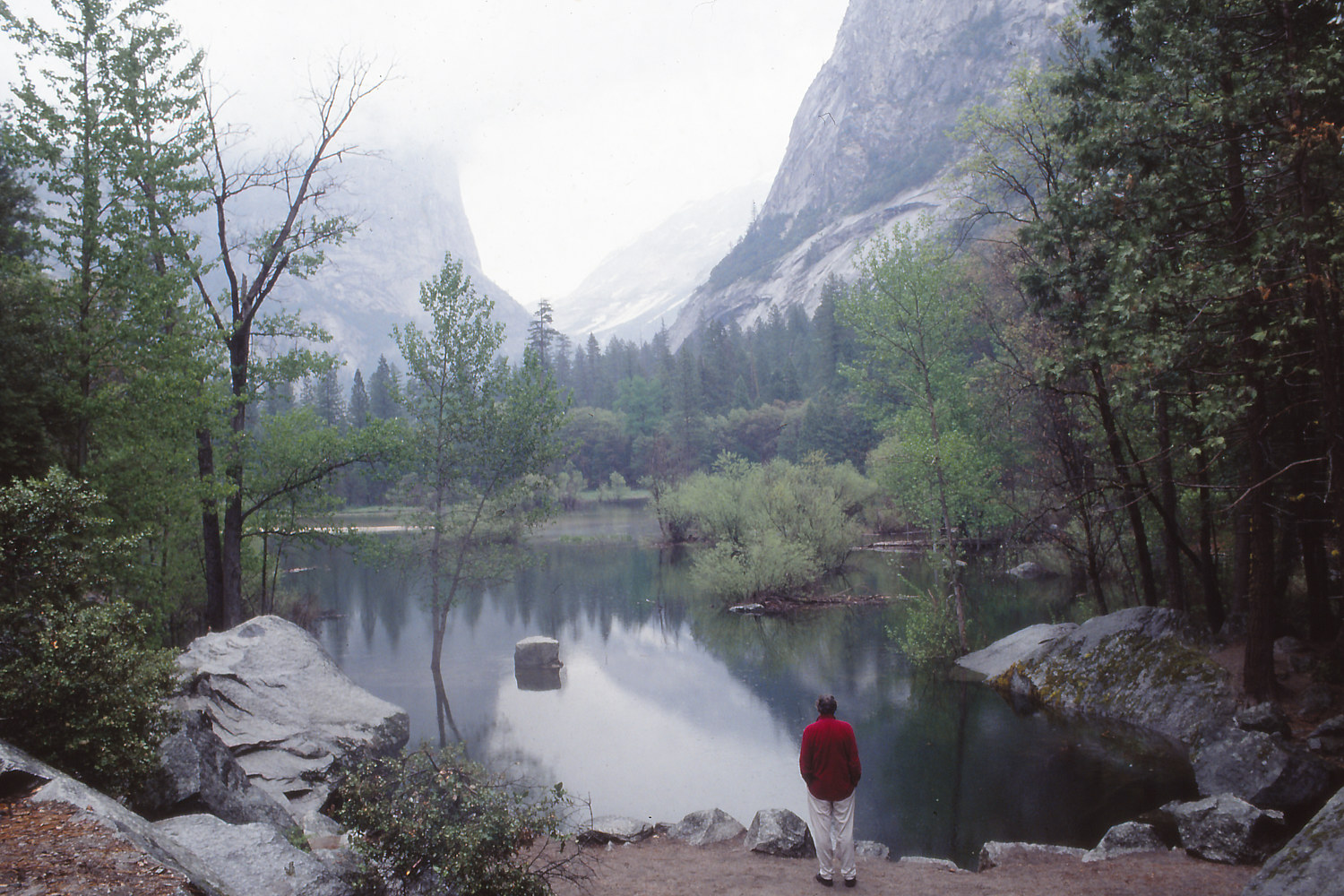 Lake at Yosemite by Kathleen Gross