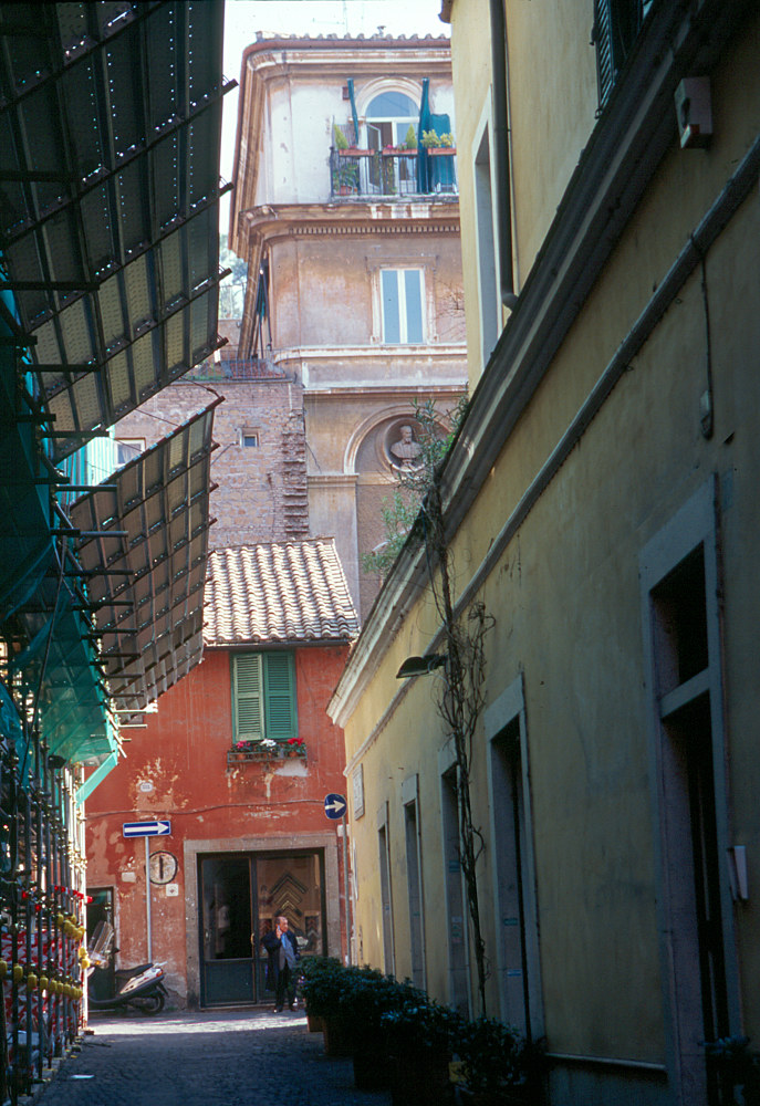 Rome Alley by Kathleen Gross