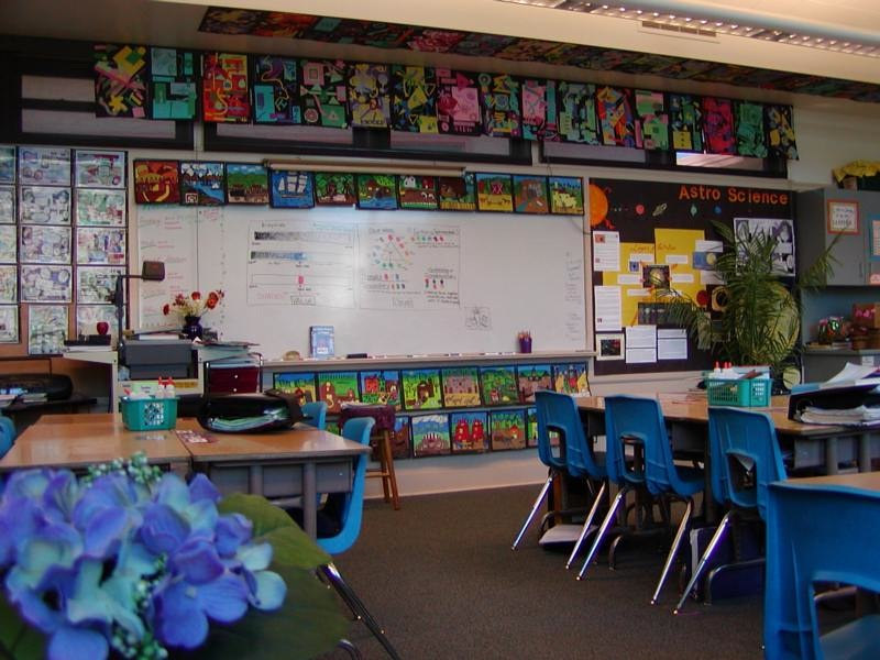 Linnie's Room while Teaching for SBUSD by Victoria Avila