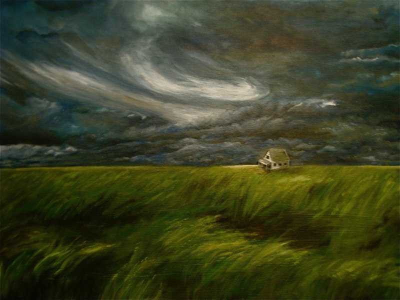 """Windswept"" by Linnie (Victoria) Aikens Lindsay"