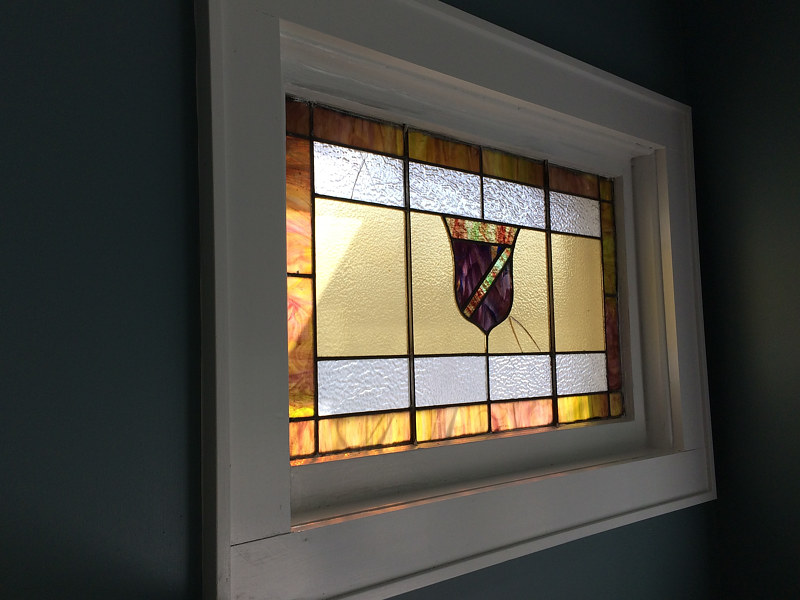 Yasamine's window before repair by John Boyd