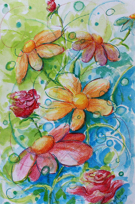 Watercolor Colour Magic by Wanda Hawse