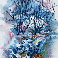 Winter Impression #3 by Wanda Hawse
