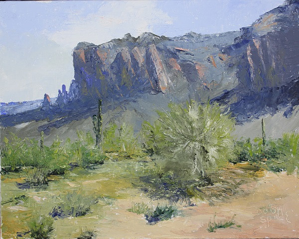 Oil painting Superstition Morning II by Bob Spille
