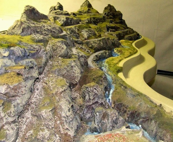 MuseumRock Products Taltre maquette  by Forest  Boone