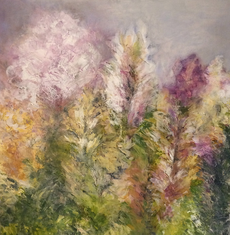 "Acrylic painting ""PRINTEMPS""       *****2017*** by Irene Lisny"