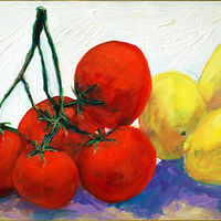 Mixed-media artwork Amy Kaufman, On the Vine by Amy Kaufman