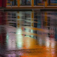 """Mastermind Toy Store Reflections Before Sunrise"" by Hunter Madsen"