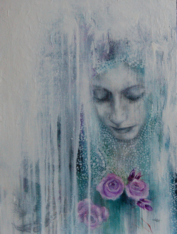 Oil painting Scent of Time II by Liba Labik