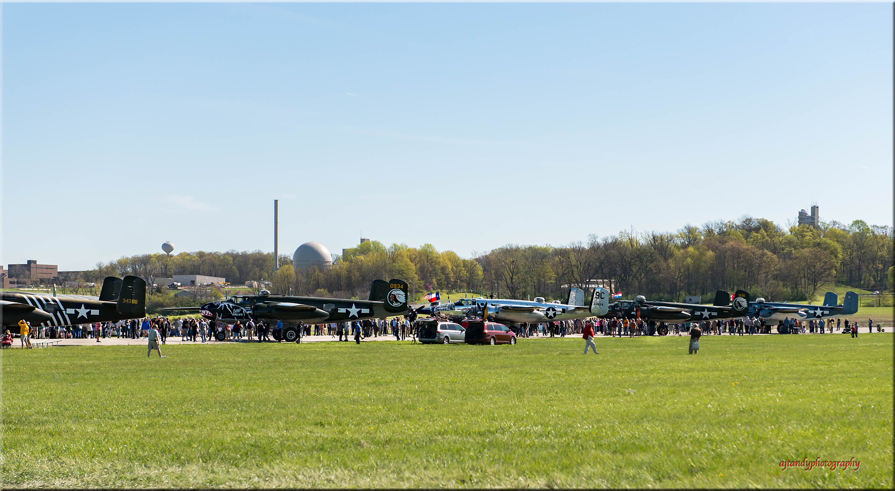 B 25s on display by Andy Humphrey
