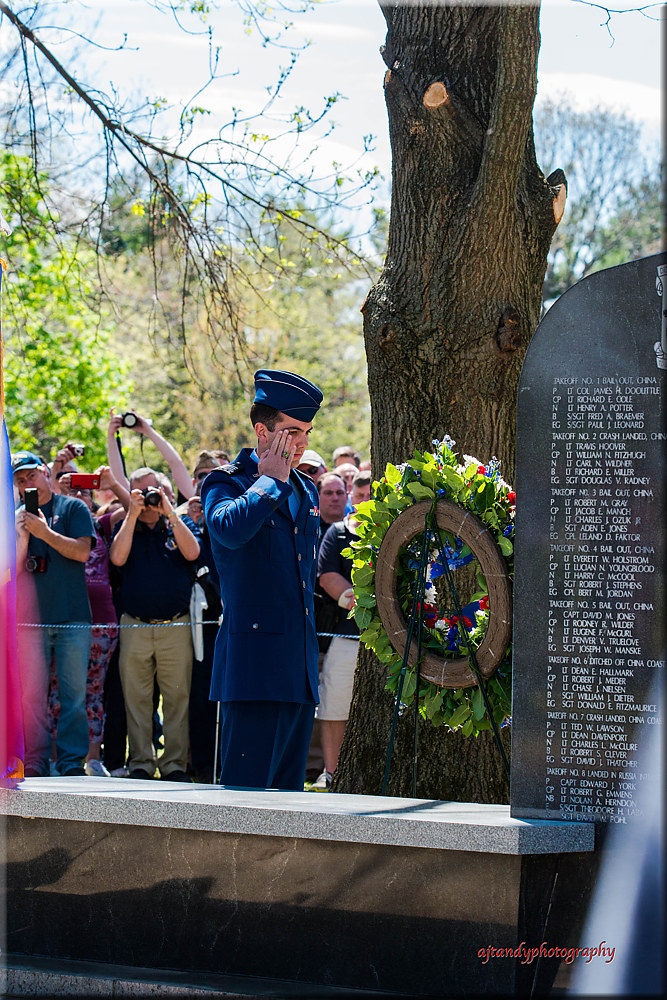 The wreath was laid, Taps was blown... by Andy Humphrey
